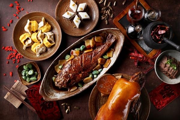 春节菜品合照  图片源自品牌