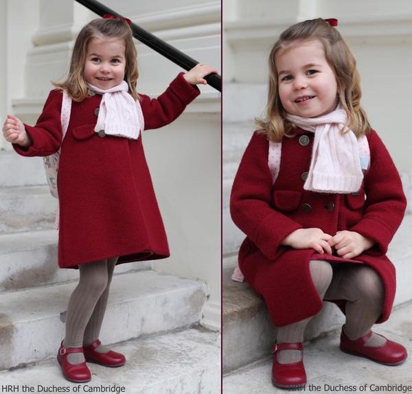 英国夏洛特公主(图片来源于BabyDoes)
