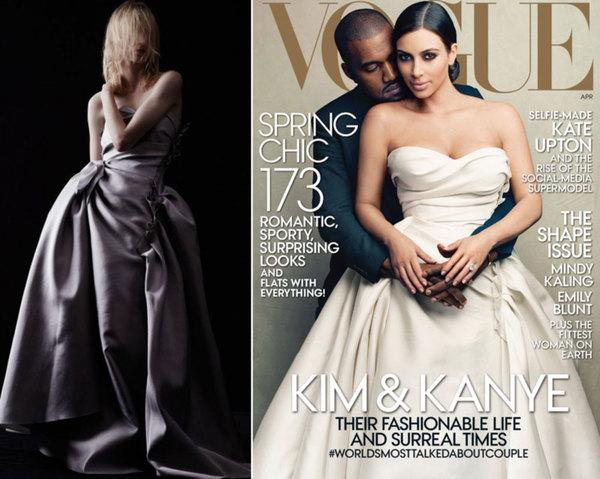 Kim Kardashian身穿Lanvin 2014年度假系列