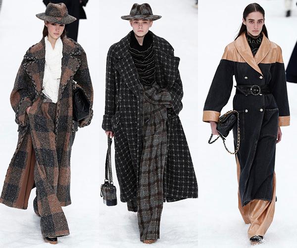 Chanel 2019/20秋冬高级成衣系列-大衣