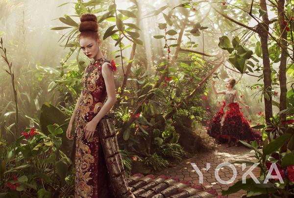 郭培高定作品大片  图片来自品牌