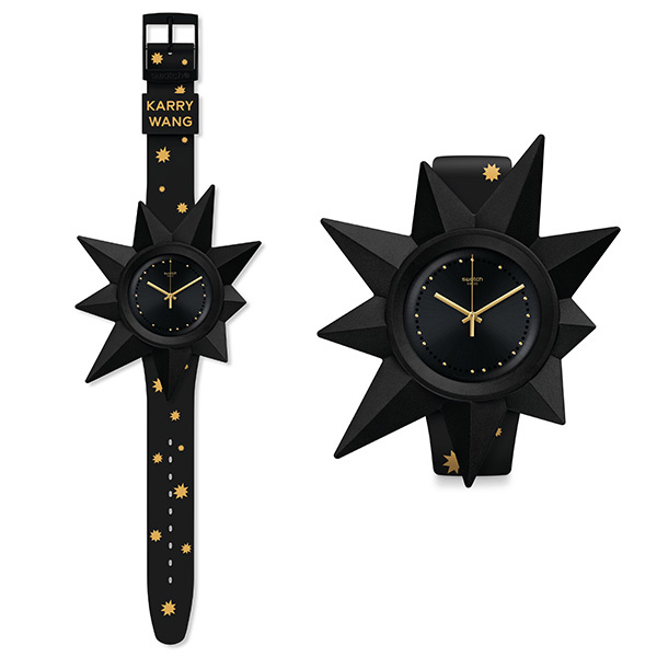 """有星星表头装饰配件的 """"K921星球""""腕表(图片来源于品牌)"""
