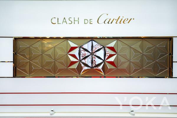 卡地亚Clash de Cartier全新珠宝体验展(图片来源于品牌)