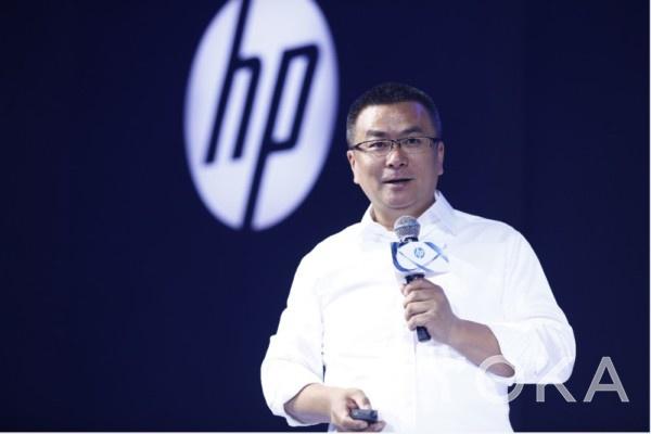 图3:惠普打印机与耗材产品事业部中国区总经理金卫东