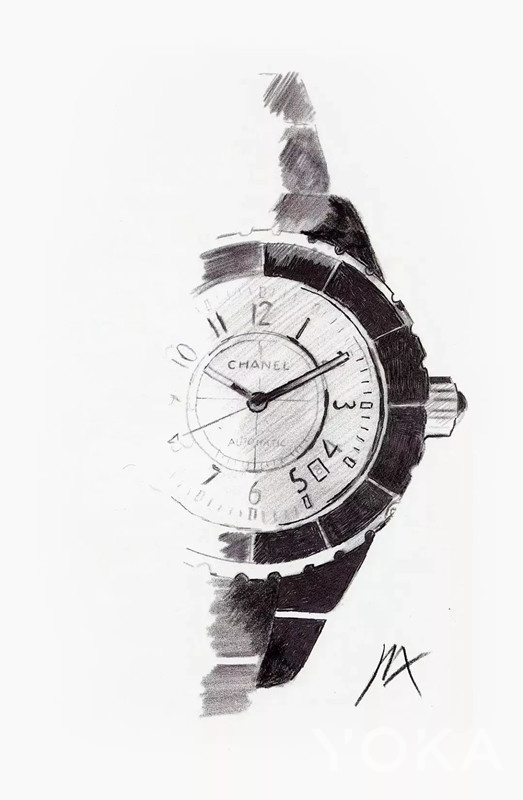 Chanel J12系列腕表(图片来源于品牌)