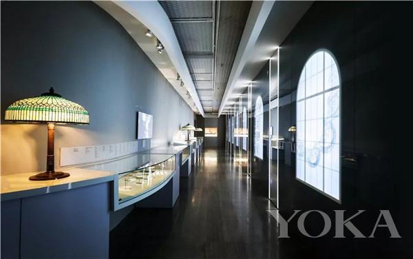 「蒂芙尼Blue Book高级珠宝」展区(图片来源于品牌)