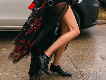 百年经典小黑靴 ,永恒时髦就是它!