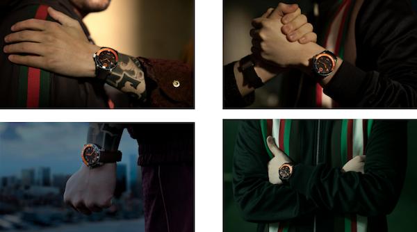 Gucci联手Fnatic发布全新限量款Gucci Dive系列潜水表