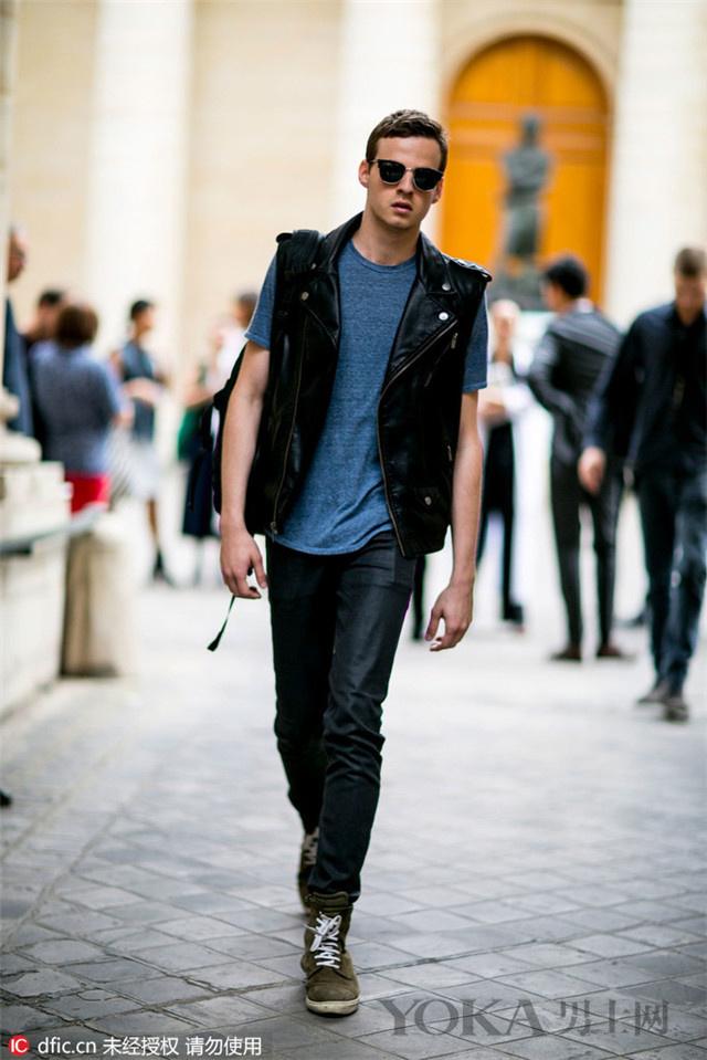 牛仔裤的6种帅气穿法 凭什么霍建华婚礼禁止穿?