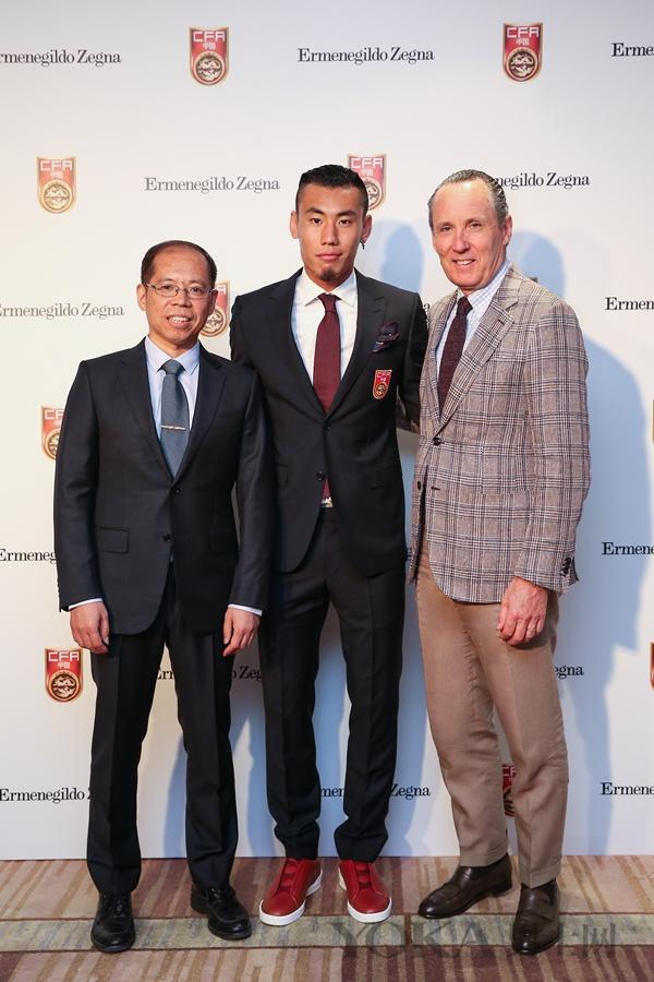 杰尼亚集团成为中国国家男子足球队合作伙伴
