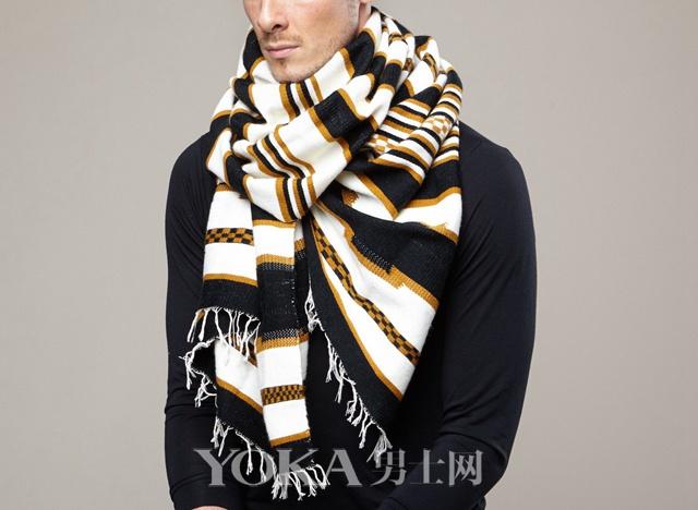 8大原则11种系法 秋冬男士围巾怎么系良心指南