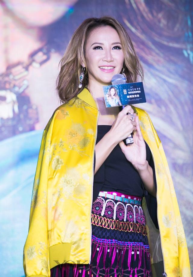 李玟世界巡演在沪启动 暌违七年再度闪耀开唱